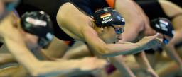 BLN 2014 / LEN European Swimming Championships / Schwimm EM / Berlin / Donnerstag 21.08.2014 / 100 M Schmetterling der Frauen Vorlauf / Alexandra Wenk (GER) Foto: Daniel Kopatsch
